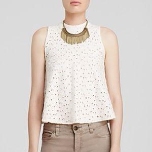 NWT Free People cupcake jersey flare mali blouse